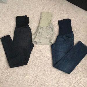 Denim - Maternity Pants & Shorts